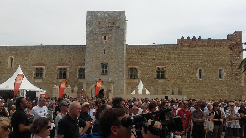 Journée des nouveaux Catalans au Palais des Rois de Majorques