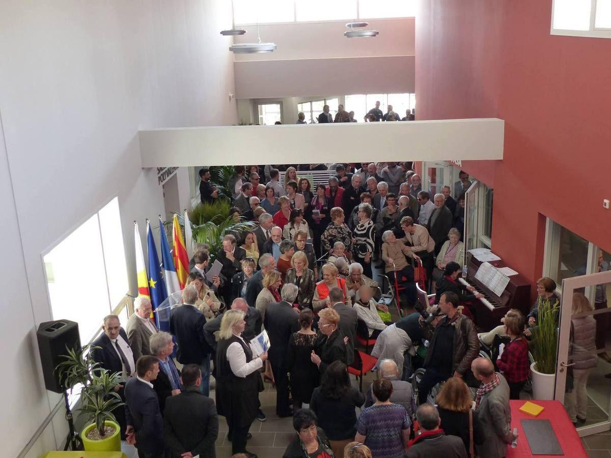 Inauguration du pôle intergénérationnel d'Alenya, vendredi 17 mars.