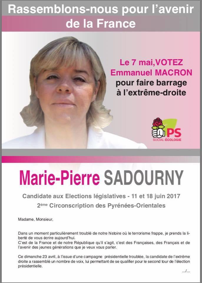 Le 7 Mai - Votez Emmanuel Macron pour faire barrage à l'extrême droite