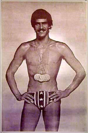 Mark Spitz 32 records du monde battus.