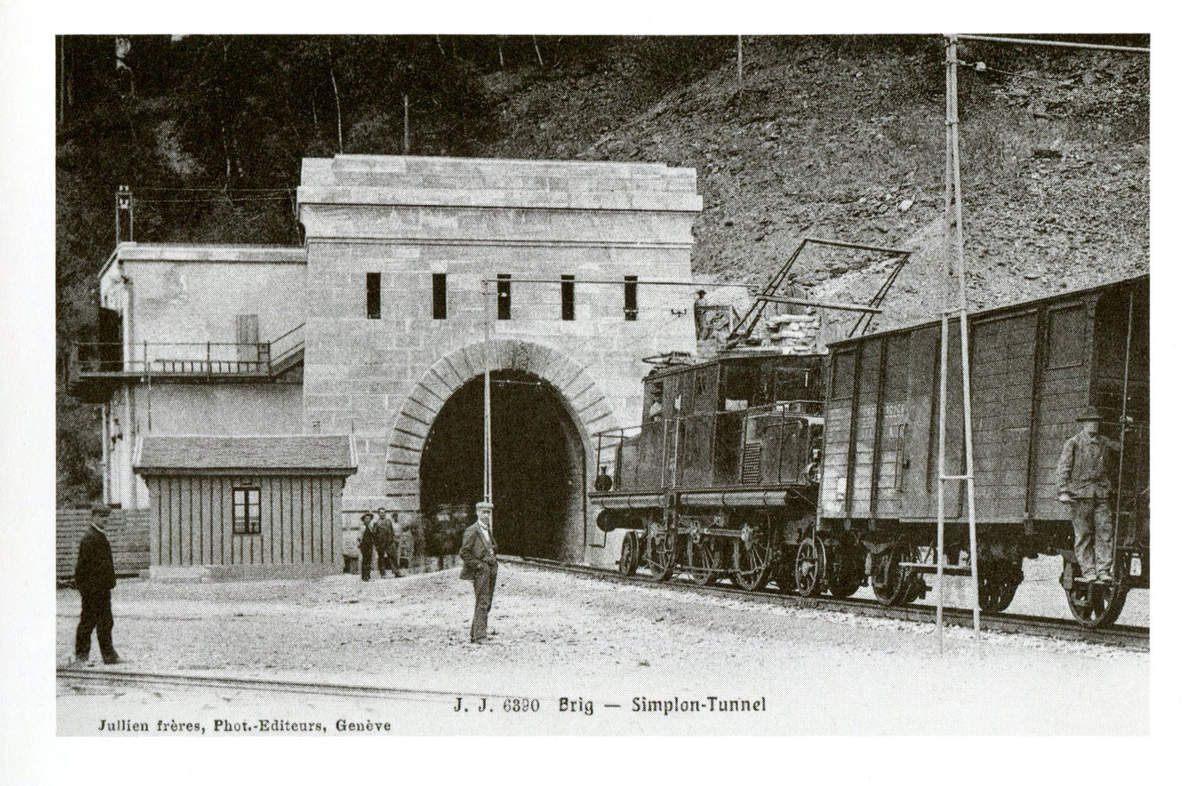 Tunnel du Simplon (1906)