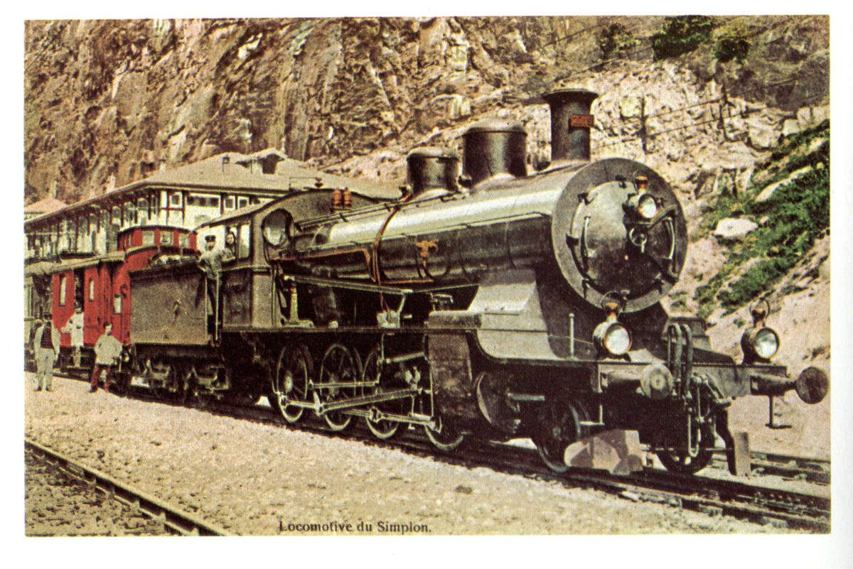 Locomotive du Simplon