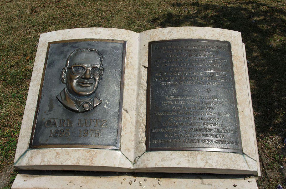 Carl Lutz memorial» par Yelkrokoyade — Travail personnel