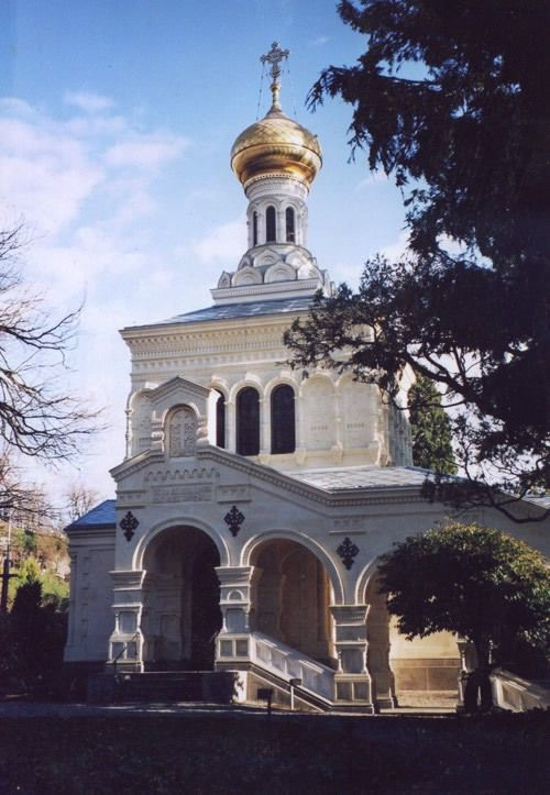 Eglise orthodoxe russe à Vevey