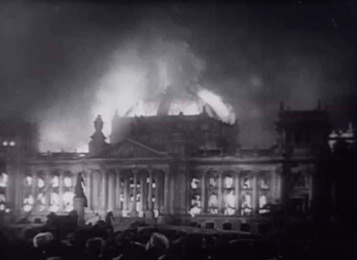 L'incendie du Reichstag