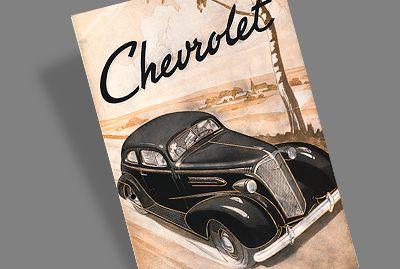 Publicité d'avant-guerre