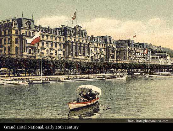 Grand Hôtel National Lucerne
