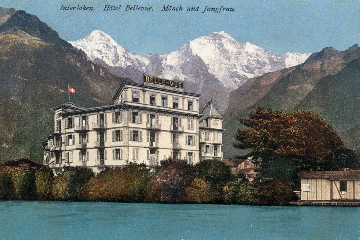 L'Hôtel Bellevue à Interlaken