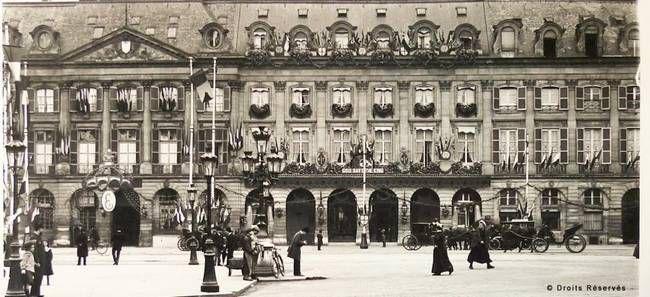 Ouverture du Ritz en 1898