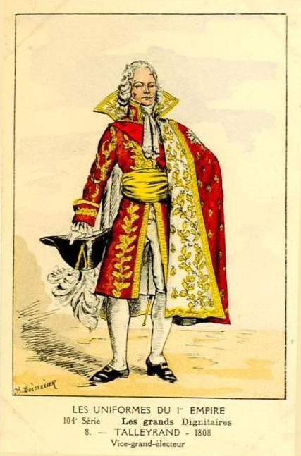 TALLEYRAND 1808