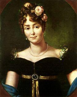 Maria Łączyńska, comtesse Walewska.