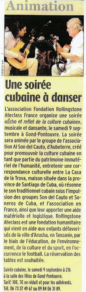 Articles de presse concernant la Fondation