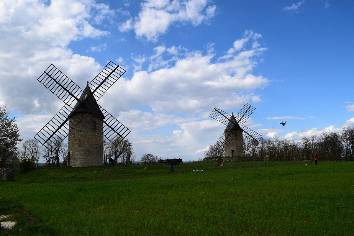 Les moulins de Calon sur la commune de Montagne