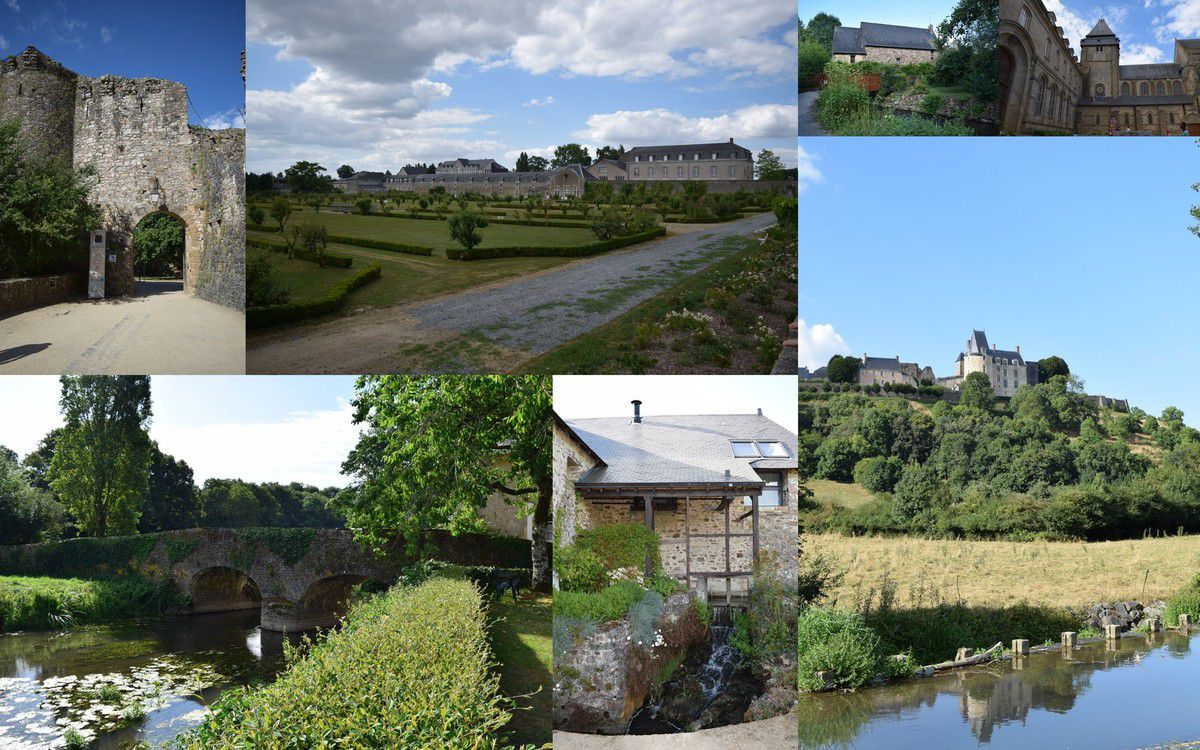 Sainte Suzanne et Evron en Mayenne
