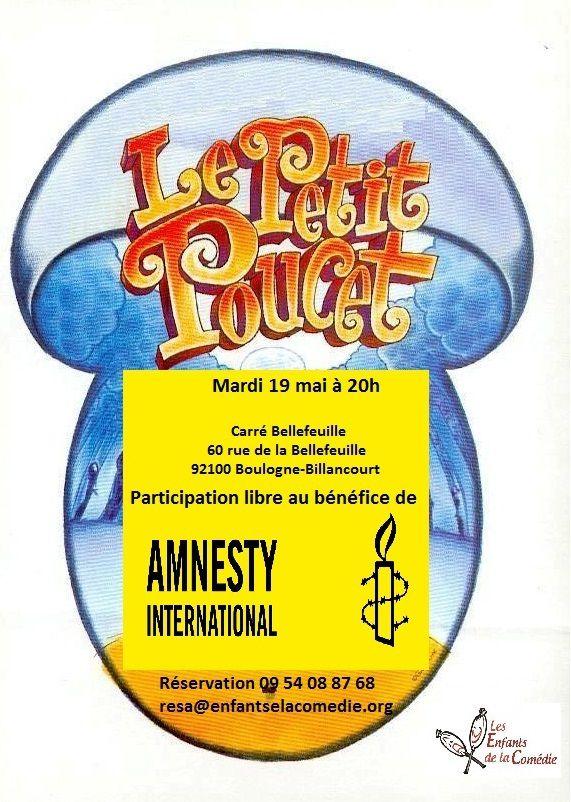 """Boulogne-Billancourt, 19 mai - """"Le Petit Poucet"""""""