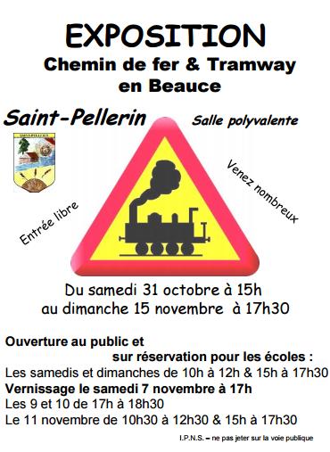 exposition : chemin de fer et tramway en Beauce