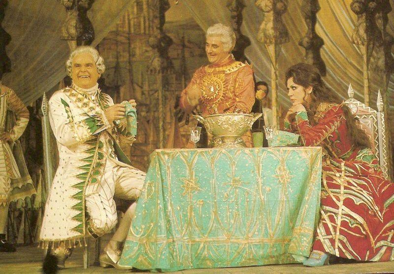 La Périchole au théâtre de Paris avec Jean le Poulain et Roger Carel