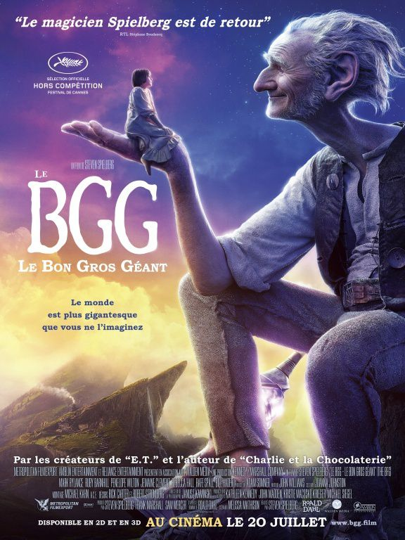 le Bon Gros Géant : Critique simple