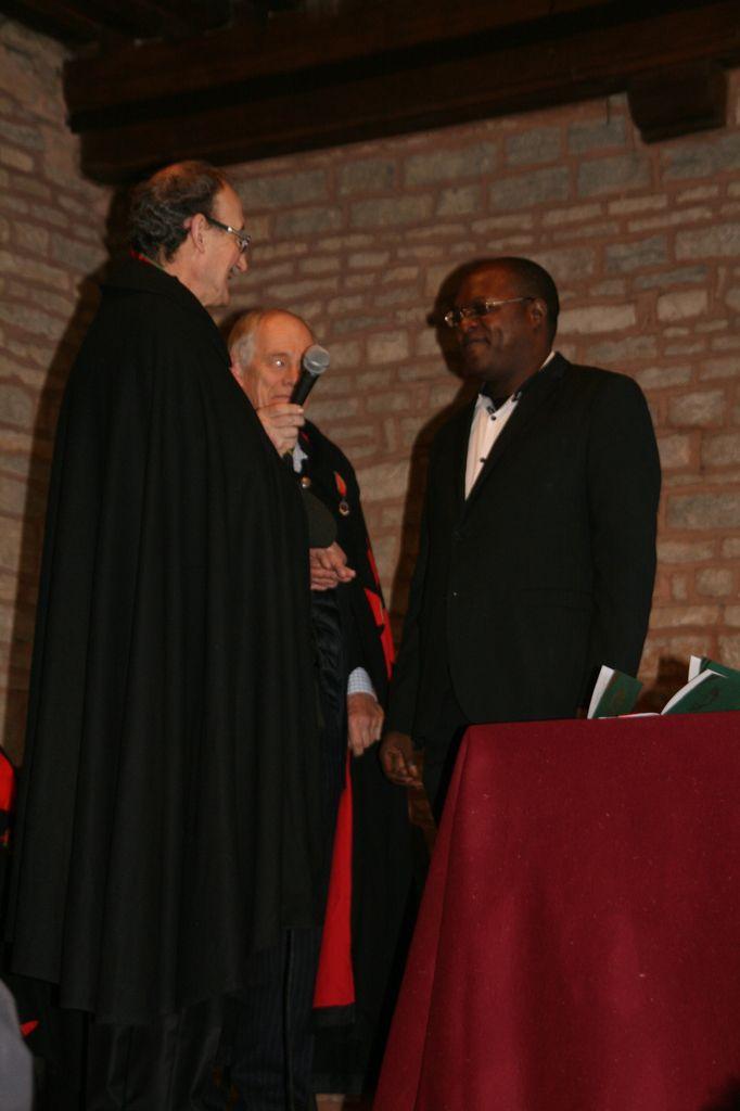 &#x3B; Père Paul Kitoko, nouveau confrère