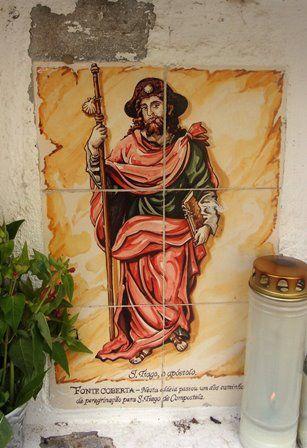 Fonte Coberta  - azulejo de saint-Jacques.