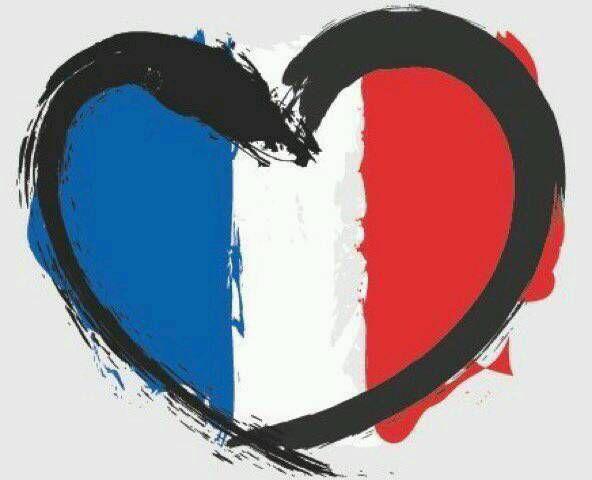 La France endeuillée.