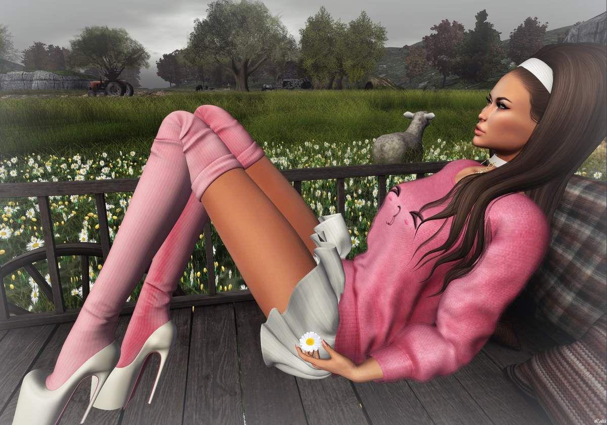 Bens Beauty - Tableau Vivant - Lamu Fashion - Posesion
