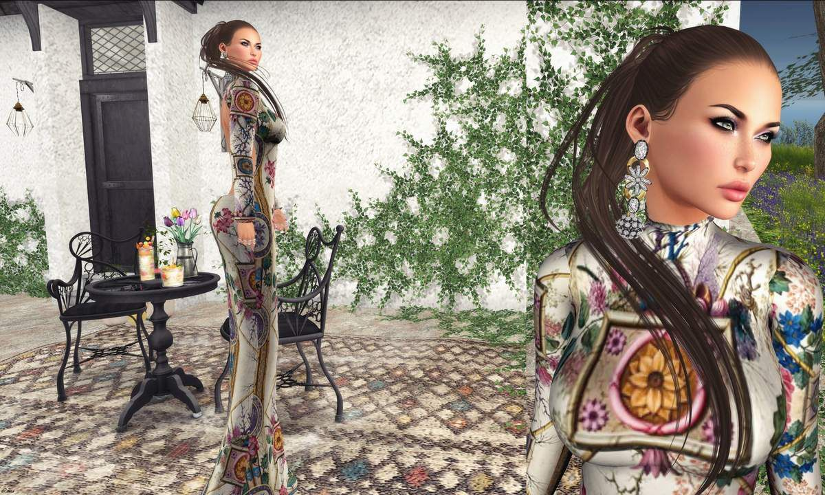 Tetra - JumoFashion - Glitter Poses - Tableau Vivant - Virtual Diva - enVOGUE - Posesion