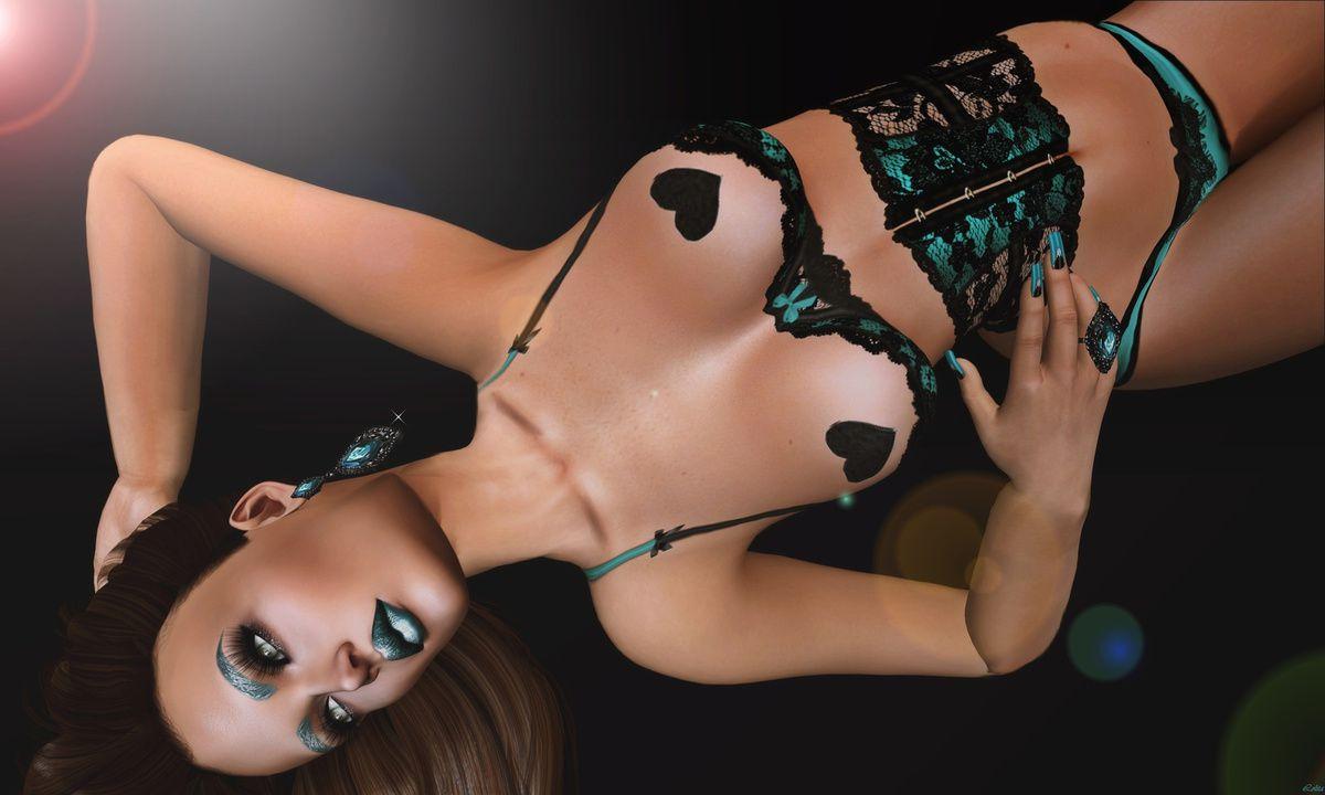 Scandalize - Blacklace - ARTE - Glitter pose