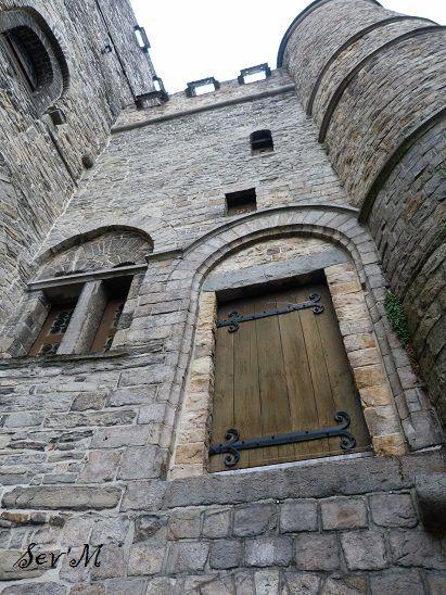 Le château médiéval.