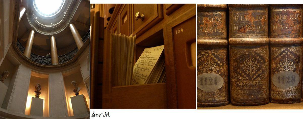 Et la superbe bibliothèque Mazarine !