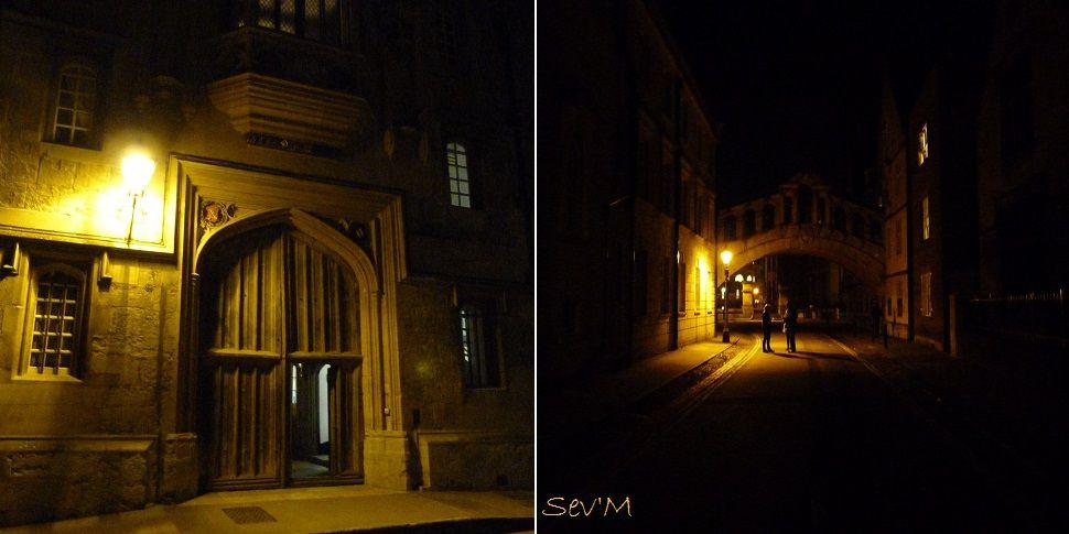 En soirée, les ruelles sont sobrement éclairées, on se croirait dans un roman gothique du 19e siècle. !