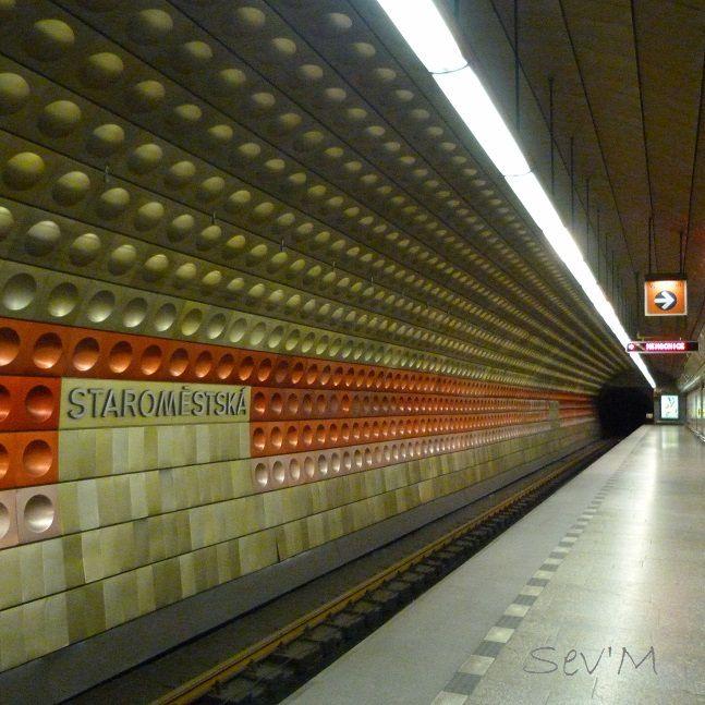 A Prague il y a le métro, alors ok c'est juste 3 lignes, mais enfin elles sont bien pratiques, propres et peu cher !