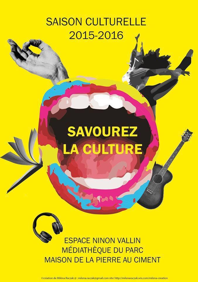 Saison culturelle 2015-2016 à Montalieu-Vercieu : Savourez la culture !