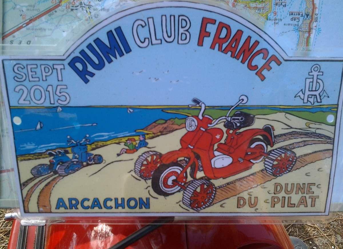 Sortie du Rumi Club de France à Arcachon