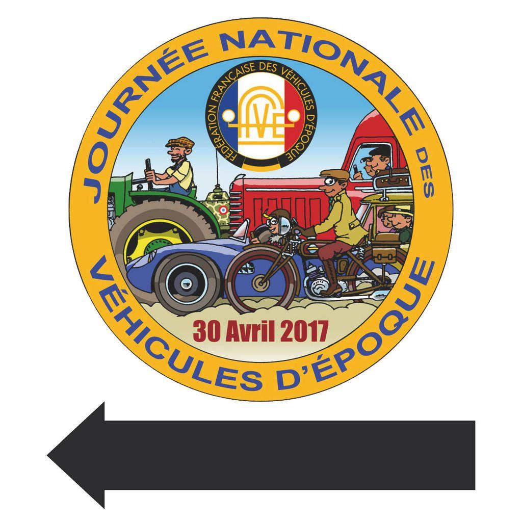 Journée Nationale des Véhicules d'Epoque dimanche 30 avril 2017