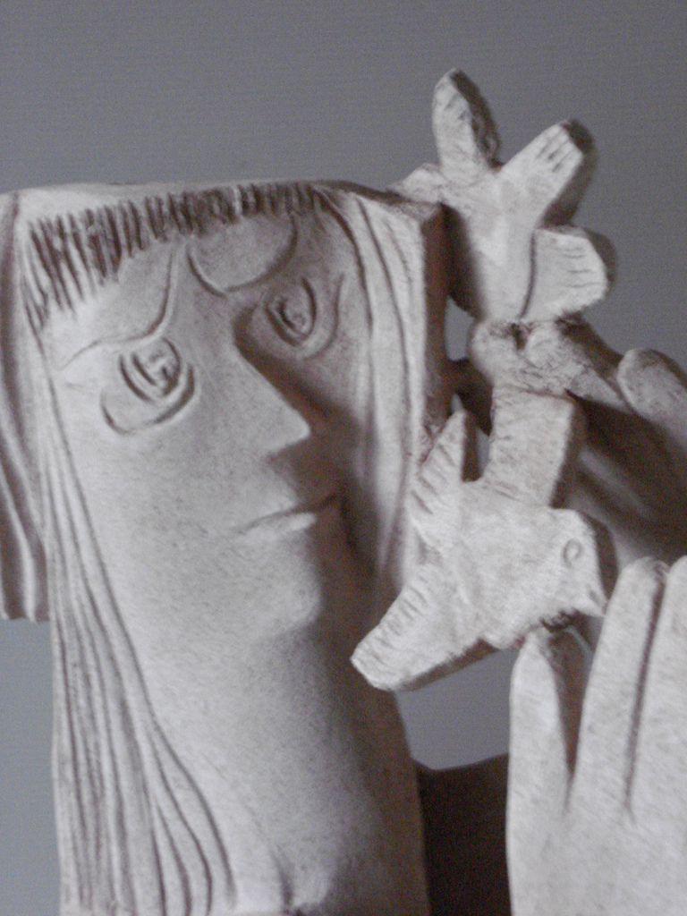 1 :Four - 2 :Sculpture côté face en relief - 3 :id - 4 :côté pile en gravure.