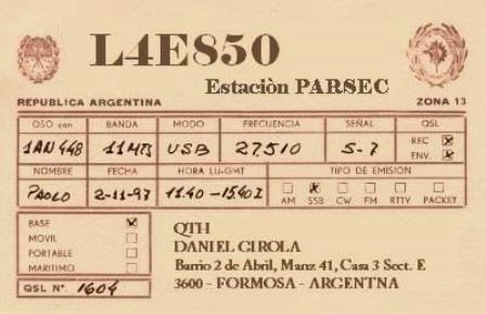 QSL-Central-South-America