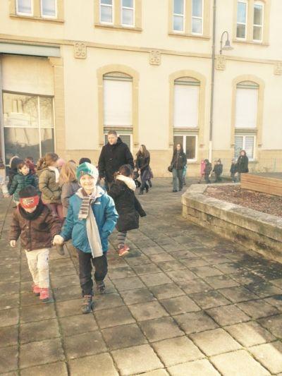 MS/GS sortie à la médiathèque de Nancy