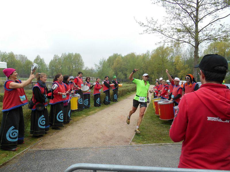 Arrivée du trail de 31 km le dimanche 26 avril 2015