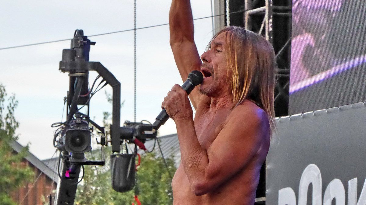 Iggy Pop Rock-en-Seine !!!