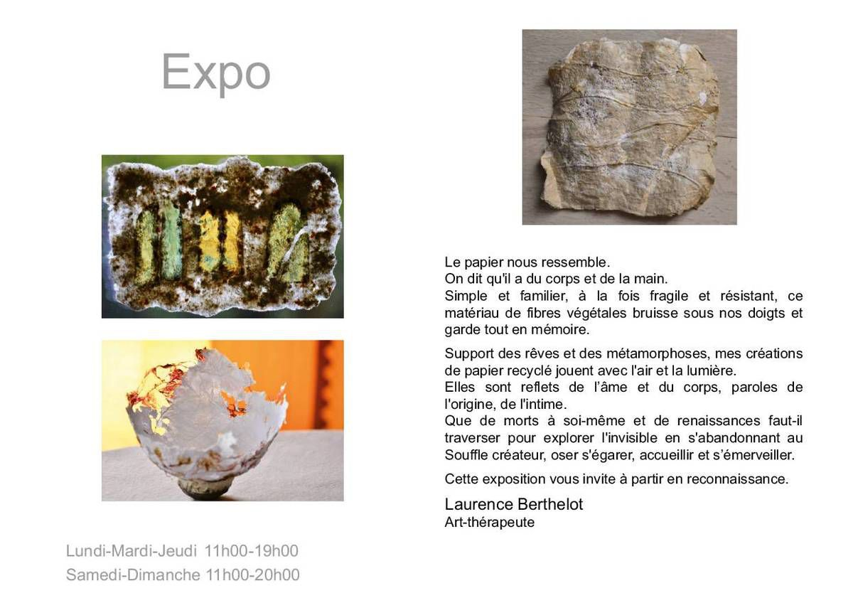 Laurence Berthelot - exposition