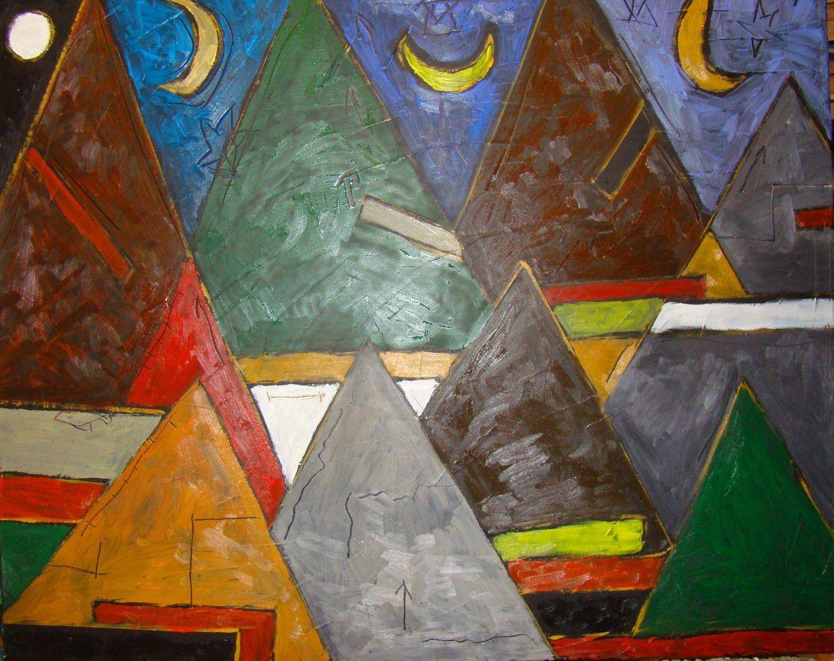 Jacky Muchery : petite étude musicale, la nuit, inspiration,étude du silence