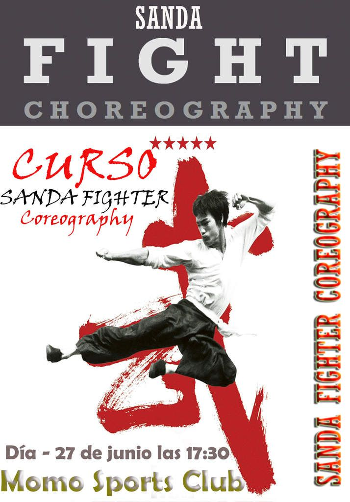 SANDA FIGHTER COREOGRAPHY GRANDMASTER SENNA
