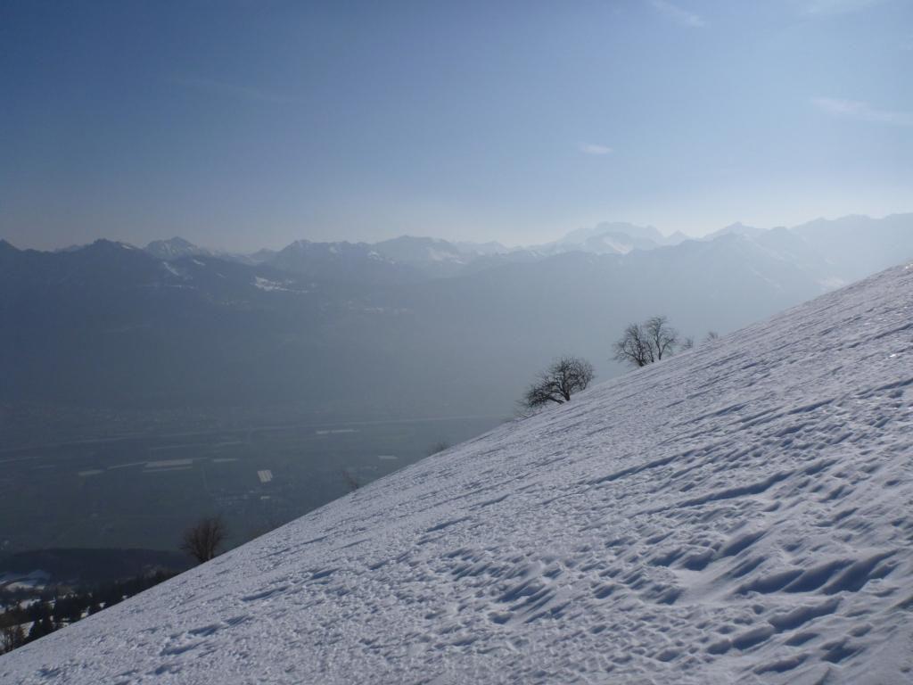 Rheintal - Au dessus des nuages