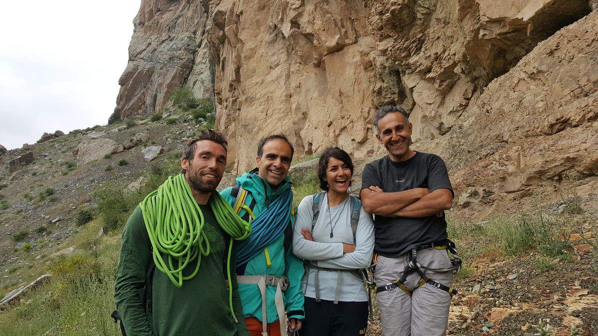 Polekhab - Iran Climb