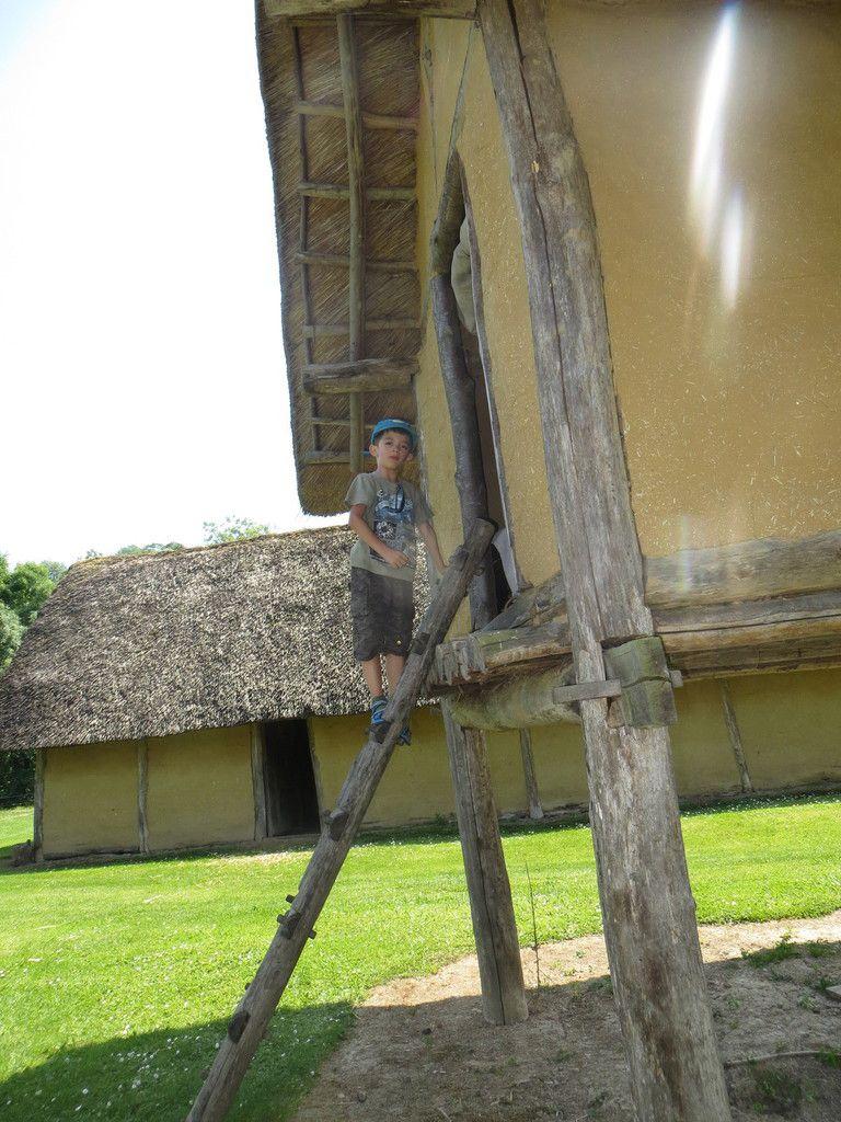 Visite du parc archéologique de Marle