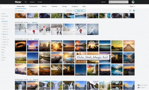 Flickr's redesign makes it much easier to find your photo