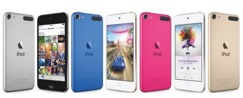 Apple's new iPod touch: Better specs, more colors (gold!), same price