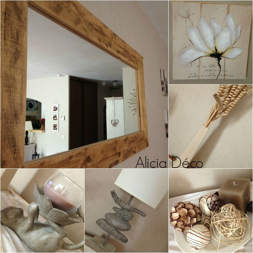 C t salon 1 les id es d co d 39 alicia for Deco miroir salon