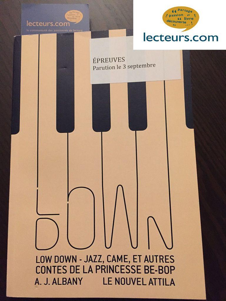 LOW DOWN - Jazz, came et autres contes de la princesse be-bop